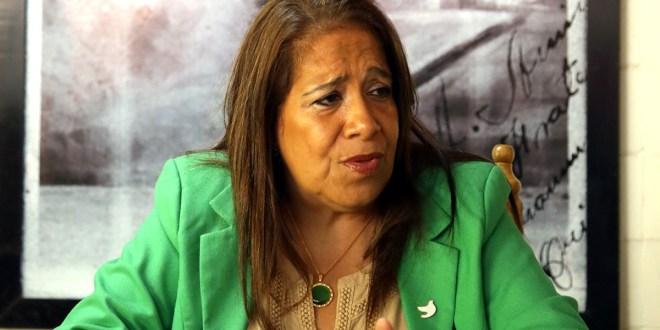 """""""Sala de lo Constituciónal es un factor  al servicio de la oligarquía"""": Nidia Díaz"""