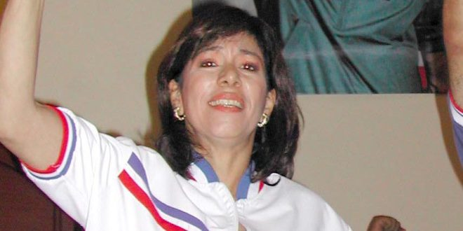 Ana Vilma de Escobar es investigada por presunto enriquecimiento ilícito