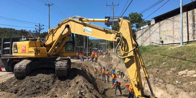 Obras de ampliación de carretera avanzan según lo programado