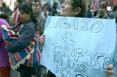 Argentina aumenta entre 61 y 148% tarifas de electricidad desde febrero