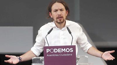 Pablo Iglesias obtiene decisiva victoria para seguir al frente de Podemos
