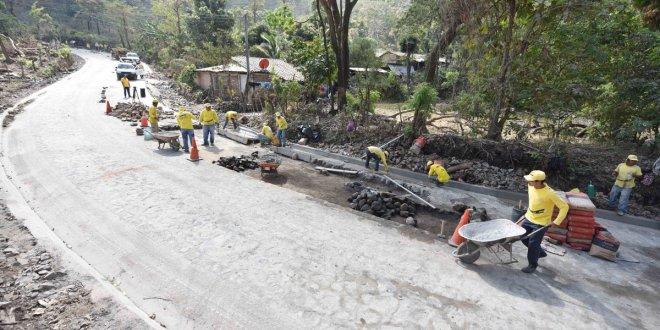 Proyecto Victoria-Caserío Santa Marta, en Cabañas avanza 94.4%
