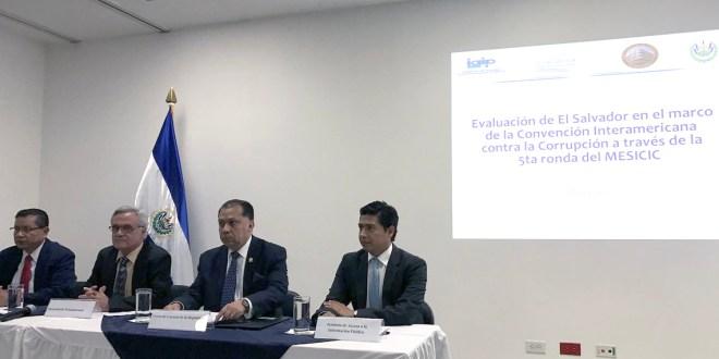 Convención Interamericana contra la Corrupción  no recomienda a El Salvador una CICIES