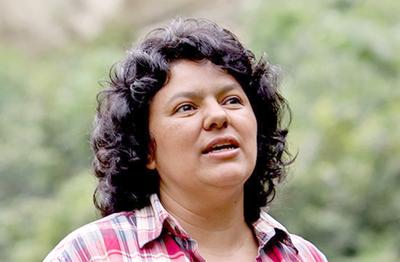 Piden castigo para autores intelectuales del asesinato de ambientalista hondureña