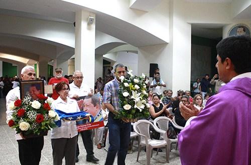 Celebran misa por cuarto aniversario de la muerte de Hugo Chávez