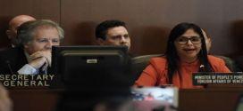 Canciller Rodríguez: Luis Almagro viola normas de la OEA para intervenir en Venezuela