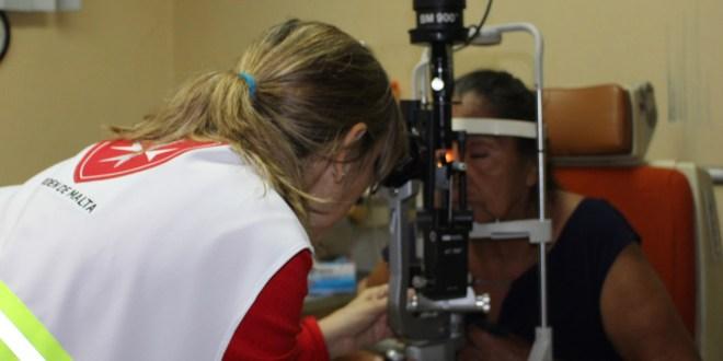 Hospital Militar y Orden de Malta realizan jornada médica de cirugía de cataratas