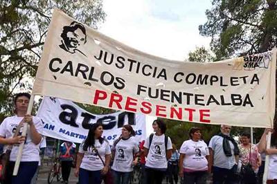 Docentes argentinos marchan hoy a 10 años del asesinato de Fuentealba