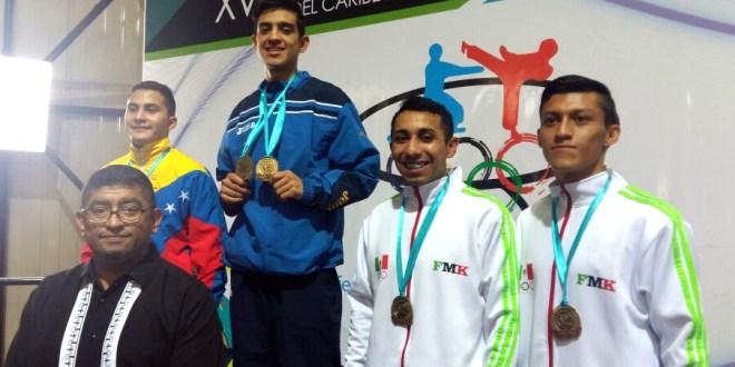 El Salvador, sexto lugar en Centroamericano  y del Caribe de Karate