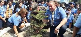 Scouts y Fuerza Armada también celebraron a la Tierra