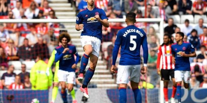 El United vence 3-0 a Sunderland y Leicester pierde su racha invicta