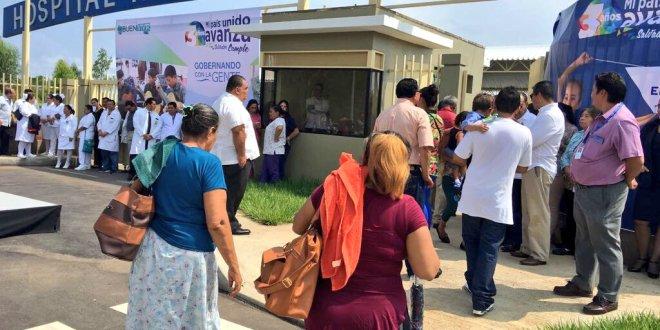 """""""El hospital de La Unión es un esfuerzo  combinado"""": ministra Menjívar"""
