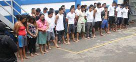 Operatividad policial deja  más de un centenar de capturas a escala nacional