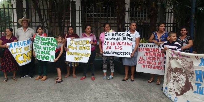 Pro-Búsqueda exige a partidos políticos  que acaten la sentencia de la CIDH
