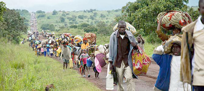 Récord de 65,6 millones de personas desplazadas en el mundo