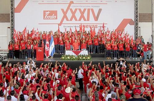 FMLN ratifica candidaturas para elecciones 2018