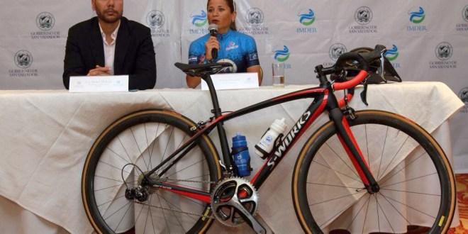 Evelyn García y el IMDER pedalearán juntos en el Ciclo Olímpico