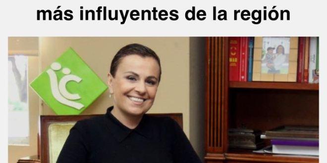 Vanda Pignato es una de las mujeres más influyentes en Centroamérica para revista Forbes