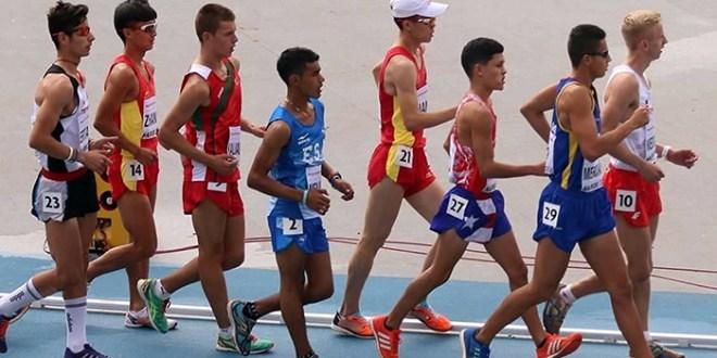 Marchista salvadoreño cumplió en el Mundial de Atletismo