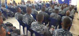 ANSP gradúa a elementos de la FES en técnicas y prácticas de intervención policial