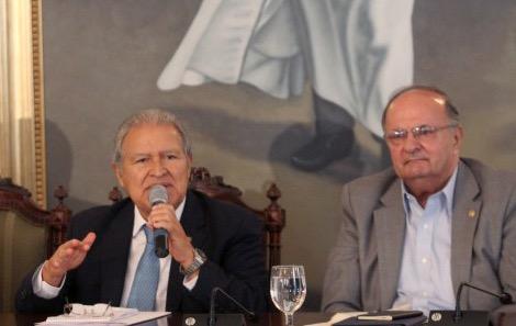 """Hato Hasbún es un incansable luchador social, un gran revolucionario"": Sánchez Cerén"