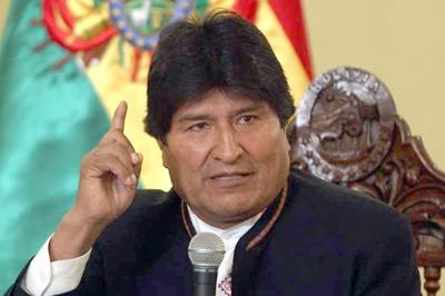Evo Morales advierte de la guerra como solución a crisis capitalista
