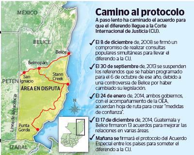 Presidente de Guatemala pide apoyo en consulta popular sobre Belice