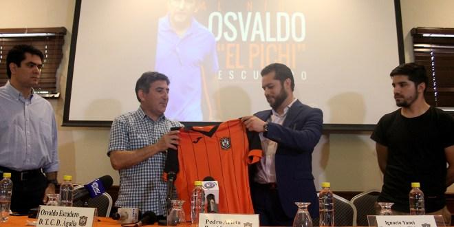 """""""El título es lo que todos queremos en Águila"""": Osvaldo Escudero"""