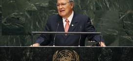Presidente Sánchez Cerén intervendrá en la Asamblea General de la ONU