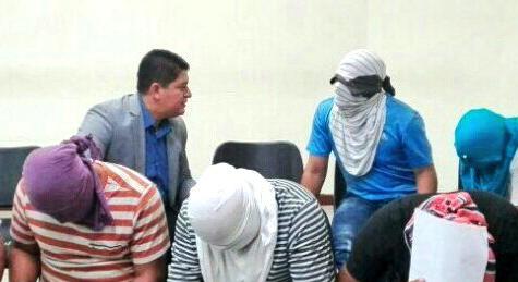 Detención provisional y medidas alternas para policías acusados de ilícitos