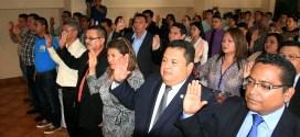 Ciudadanos son juramentados  por el TSE para conformar las JED