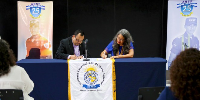 IES ANSP y SECULTURA firman convenio para fortalecer proyección social en el estudiantado