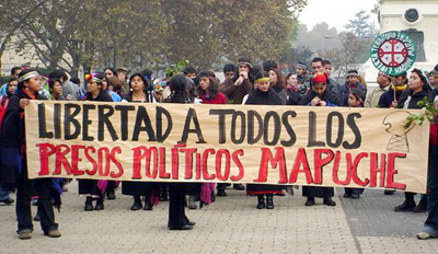 Justicia chilena mantiene en prisión a 4 mapuches en huelga de hambre