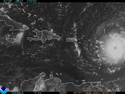 Las Antillas francesas se preparan ante llegada del huracán Irma