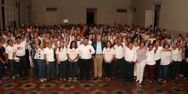 Líderes ciudadanos se unen  para apoyar al candidato Vicente Coto