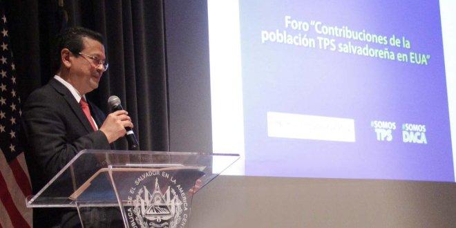 El Salvador expone aportes y acciones  para lograr una prórroga del TPS