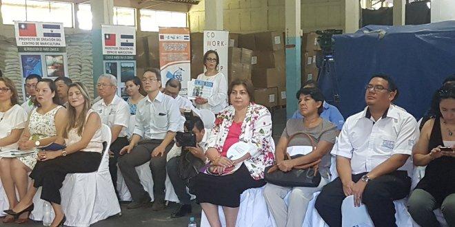 China-Taiwán dona arroz en apoyo  al Programa de Alimentación y Salud Escolar