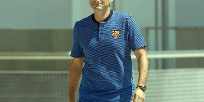 Ernesto Valverde regresa a casa  con un Barcelona invicto