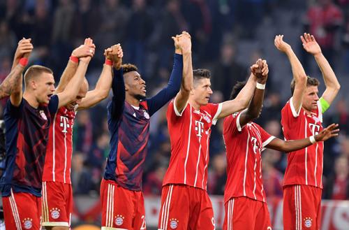 Bayern vuelve a ganar en la Champions