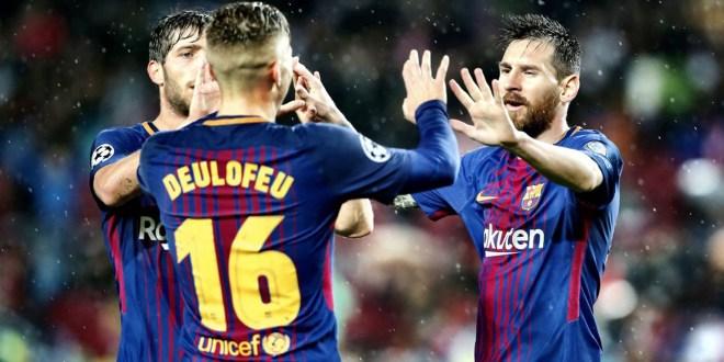 Barcelona, PSG y ManU continúan con paso perfecto