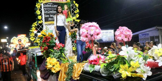 Inician fiestas en honor  a la Virgen Reina de La Paz