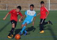 La selección de fútbol del IMDER perdió 1-3 ante la fuerzas básicas del Atlético de Madrid. Foto Diario Co Latino/Cortesía IMDER
