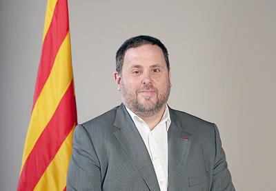 El vicepresidente catalán avisa: la independencia es la base de todo diálogo
