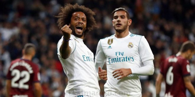 Real Madrid se mantiene a la caza del Barcelona