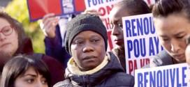 """""""Re-si-den-cia"""", reclaman haitianos a Trump tras fin de beneficio migratorio"""