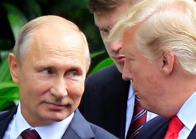 Trump defiende relación con Rusia y asegura que China presionará a Corea del Norte