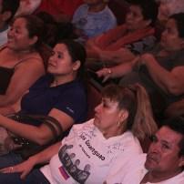 El publico abarrotó el Teatro Nacional. Foto Diario Co Latino/ David Martínez.