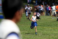Sin importar la edad, los atletas de El Paisnal dan lo mejor de sí en las competencias en que ven acción. Foto Diario Co Latino/ David Martínez.