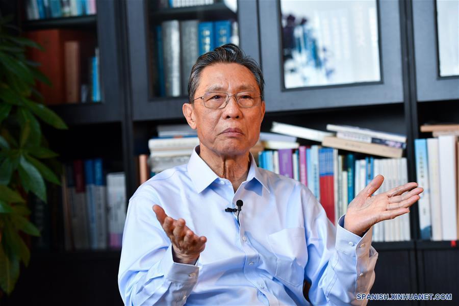 Peak será en una semana a 10 días dice experto chino — CORONAVIRUS