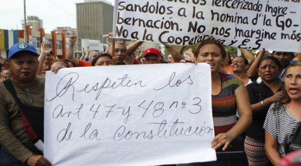 #18J Mil 500 obreros de escuelas públicas zulianas permanecen fuera de nómina